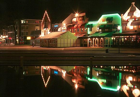 Helmond by night (Holland)