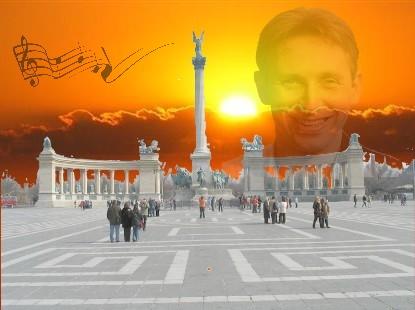 Helmut Lotti in Ungarn am Heldenplatz