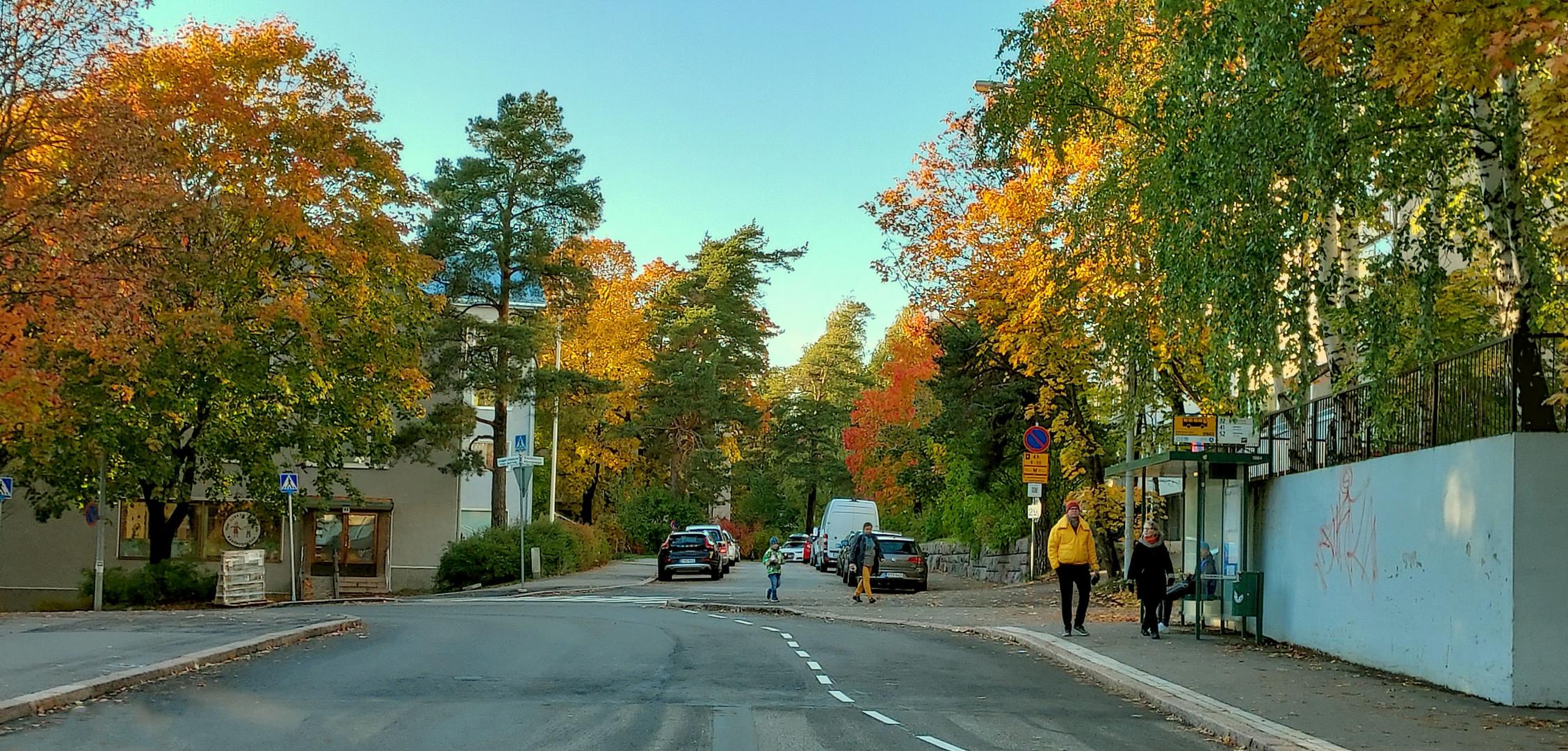 Helsinki, Haaga, the colors of autumn 2