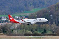 Helvetic Airways Embraer ERJ-190 (190-100) HB-JVM