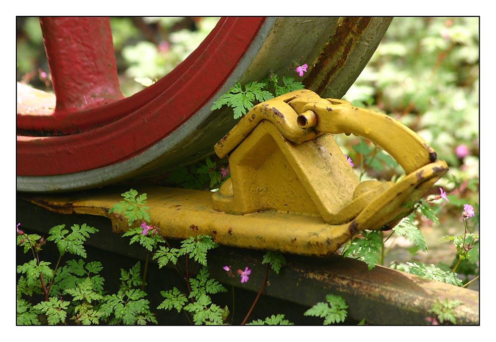 Hemmschuh - nicht für Grünes...