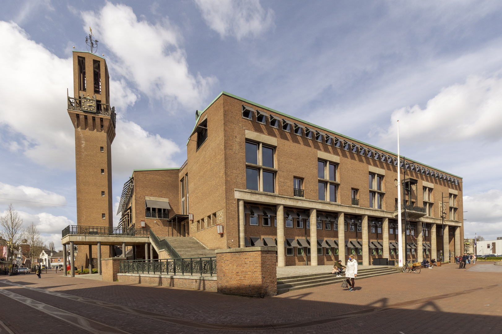 Hengelo - Burgemeester Jansenplein - Town Hall - 02