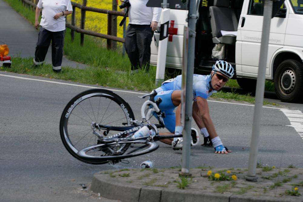 Henninger Rennen - Crashed