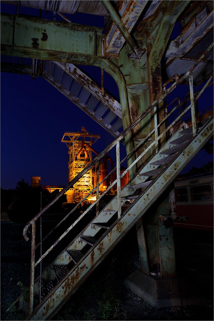 Henrichshütte@Nacht