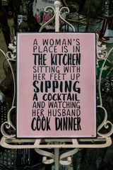 ... her husband is cooking with red wine