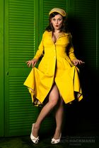 her sweet new yellow dress ;)