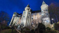 Herborner Schloss zu später Stunde