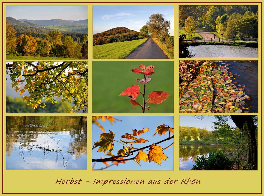 Herbst -  1- Impressionen