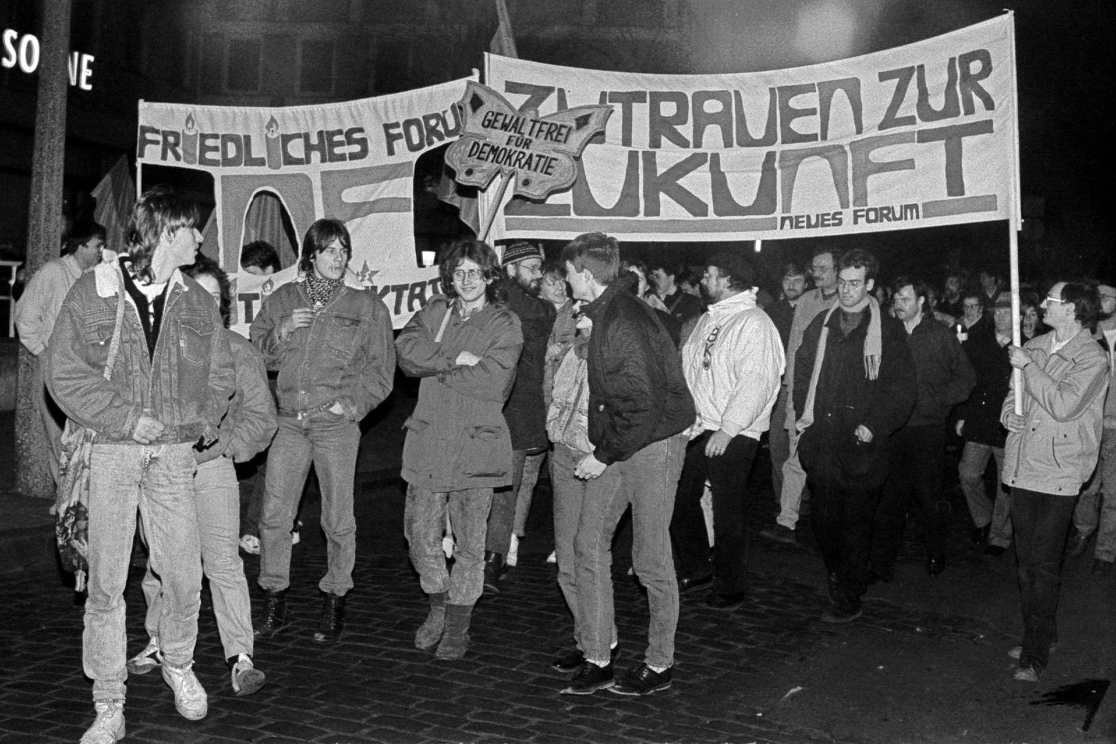 Herbst 1989 in Rostock