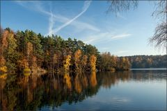 Herbst am Berggeistsee