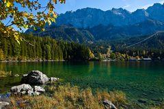 Herbst am Eibsee 1