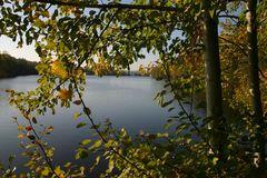 Herbst am Feisnitzstausee