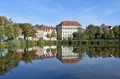 Herbst am Großen Teich in Altenburg