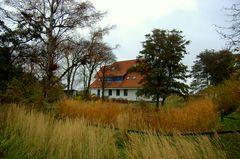 Herbst am Henni Lehmann Haus in Vitte