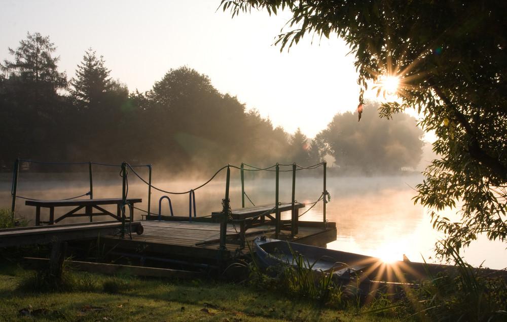 Herbst am Kanal in Rodde
