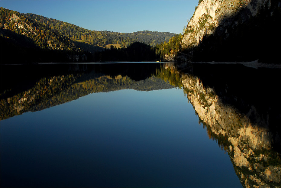 Herbst am Pragser Wildsee