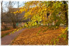 Herbst am Rathaus Worpswede