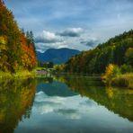 ....Herbst am Riessersee..
