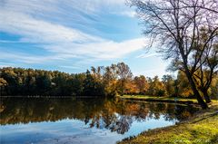 Herbst am Steinert See
