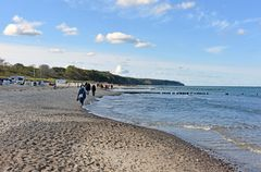 Herbst am Strand von Warnemünde (1)