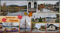 Herbst am Titisee. .