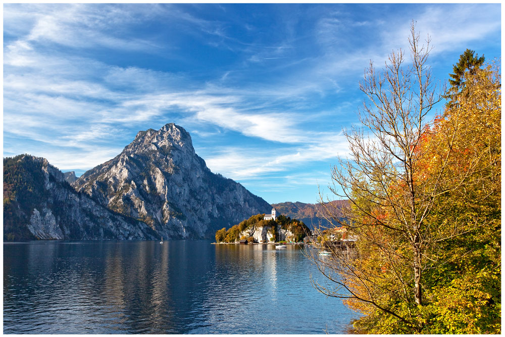 Herbst am Traunsee