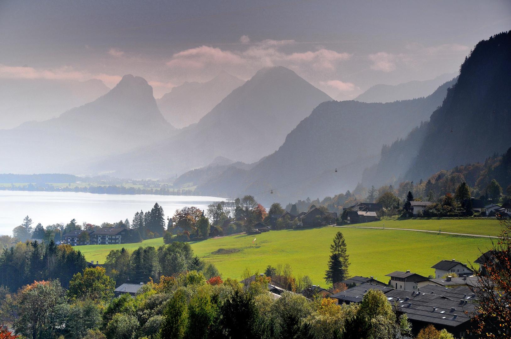 Herbst am Wolfgangsee II