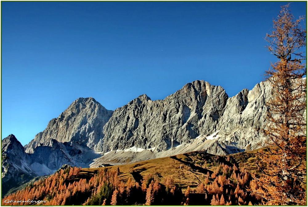 Herbst an der Dachstein-Südwand