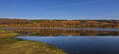 Herbst an der Lingese Talsperre