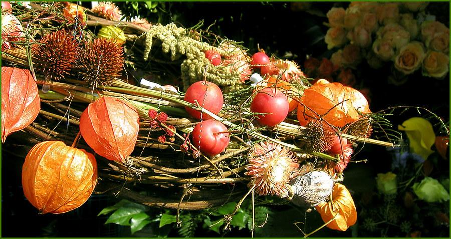 Herbst auf dem Wochenmarkt