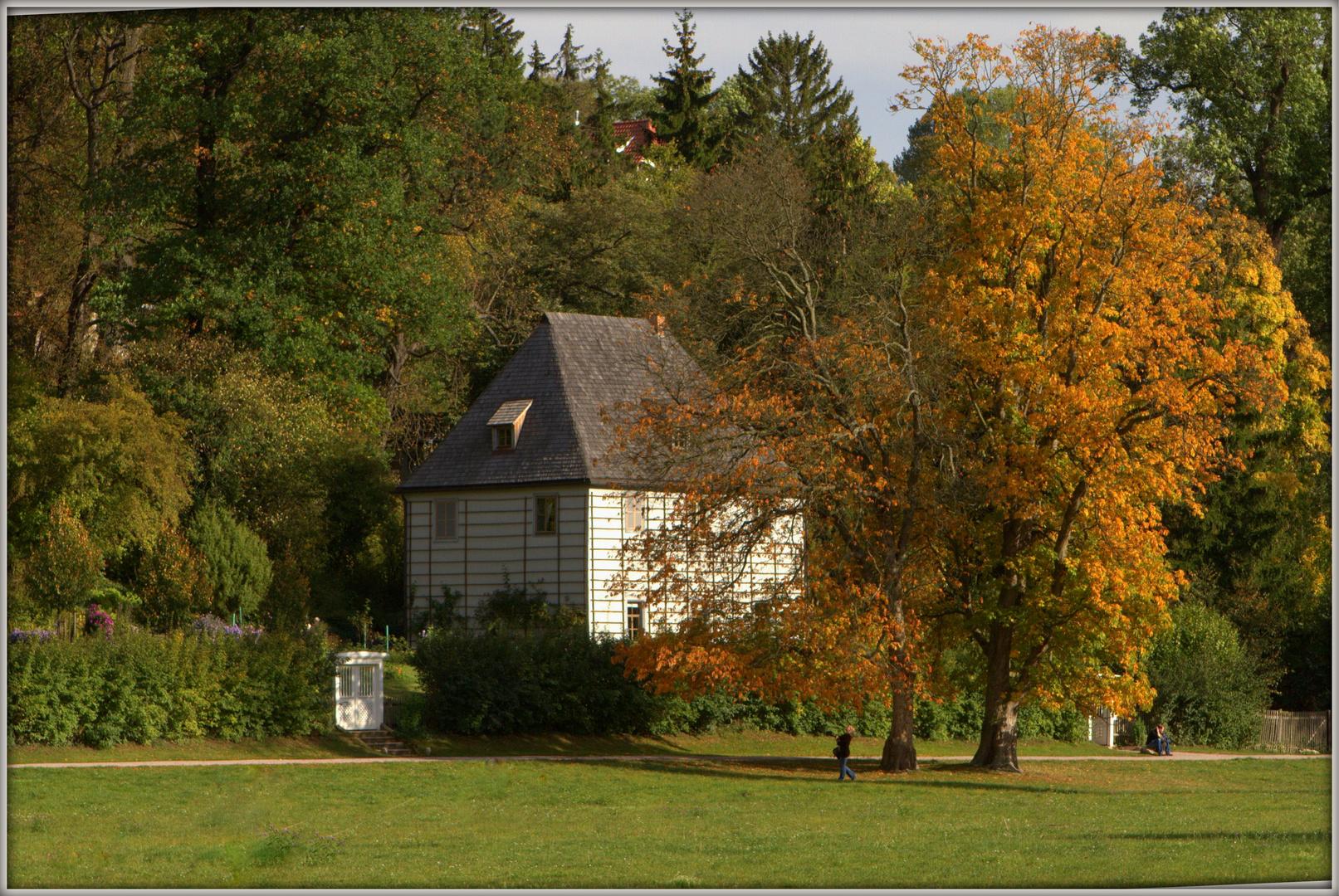 Herbst bei Goethe