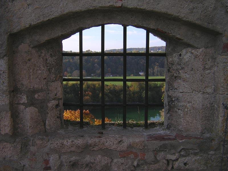 Herbst hinter Gittern... :-)