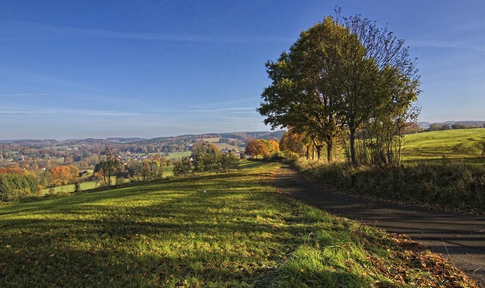 Herbst im Bergischen Land