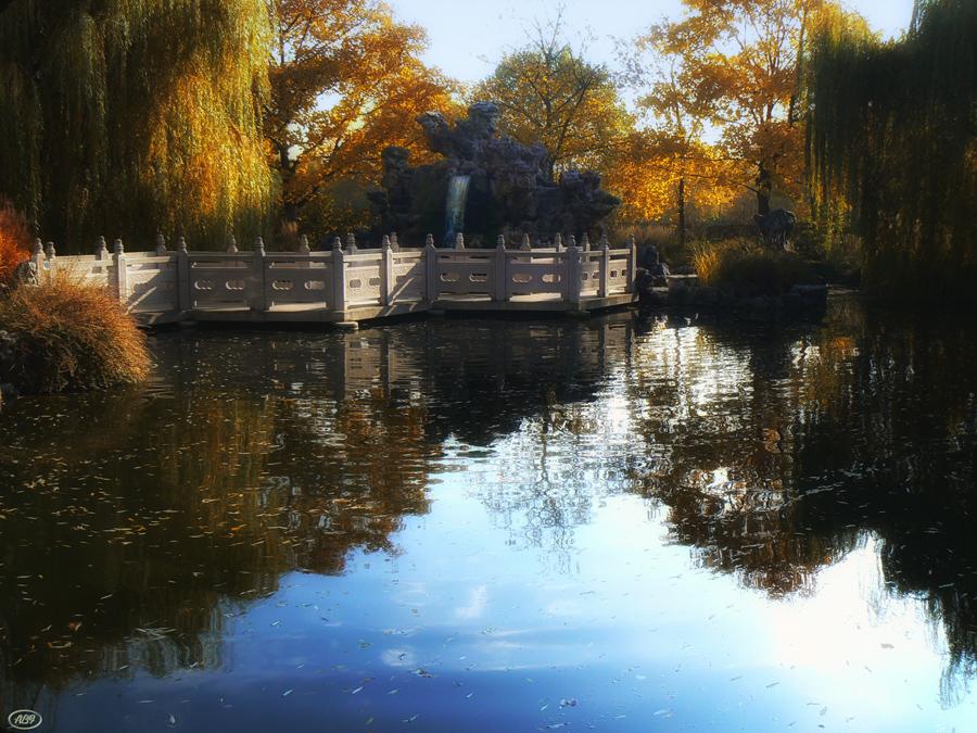 Herbst im chinesichen Garten... (7)