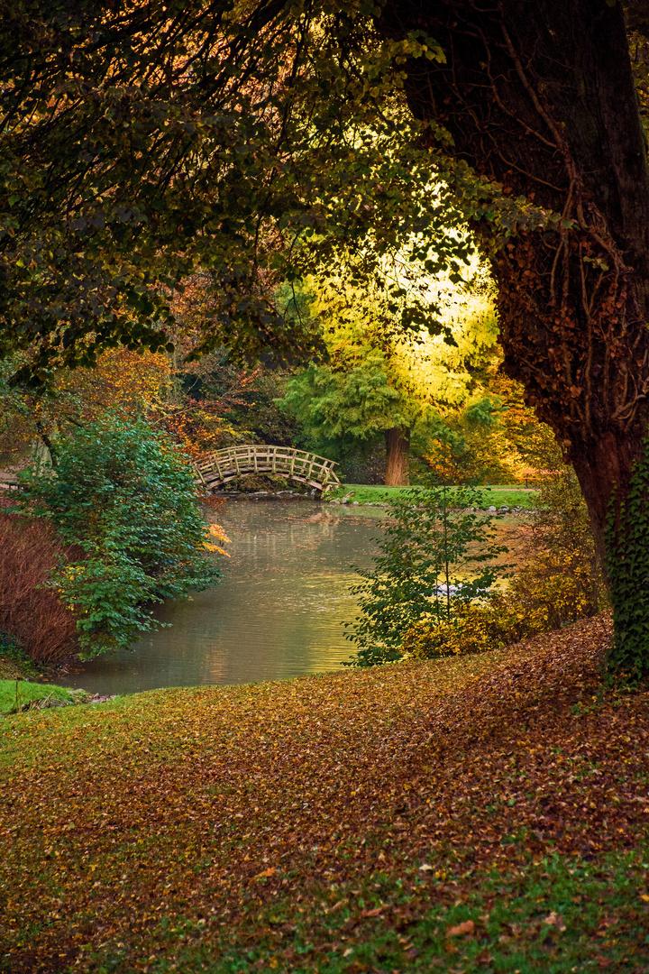 Herbst im Fürstenlager