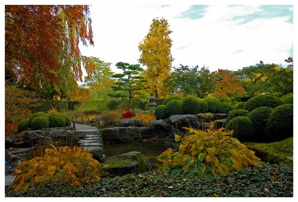 """Herbst im """"Japanischen Garten"""""""