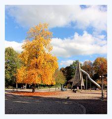 Herbst im Pfühlpark Heilbronn