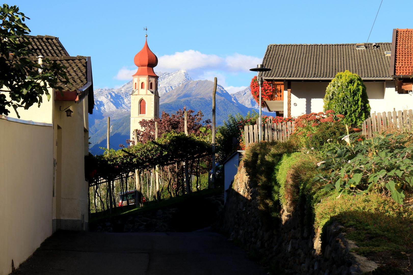 Herbst im Vinschgau