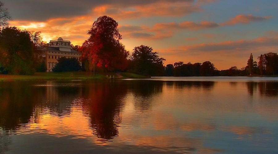Herbst im Wörlitzer Park