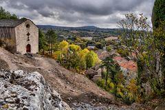 Herbst in den alten Gemäuern....(3)