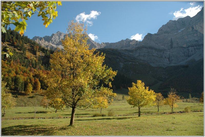 Herbst in den Bergen 2