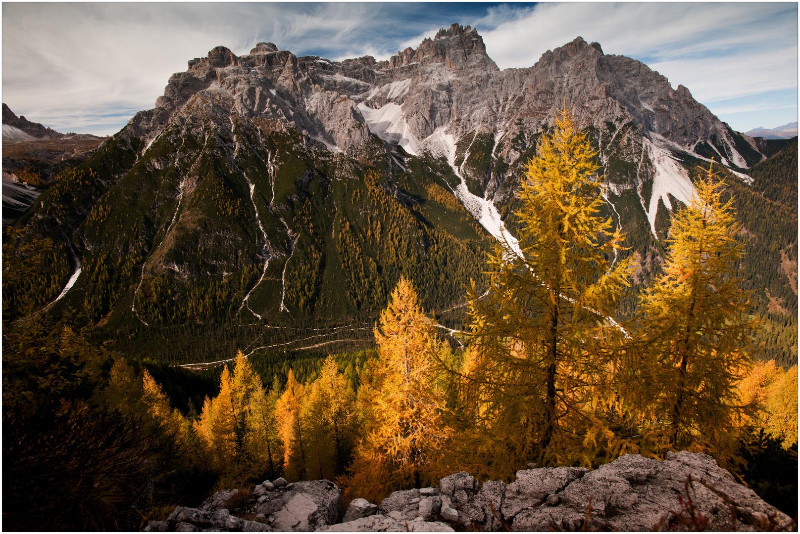 [ Herbst in den Sextner Dolomiten ]