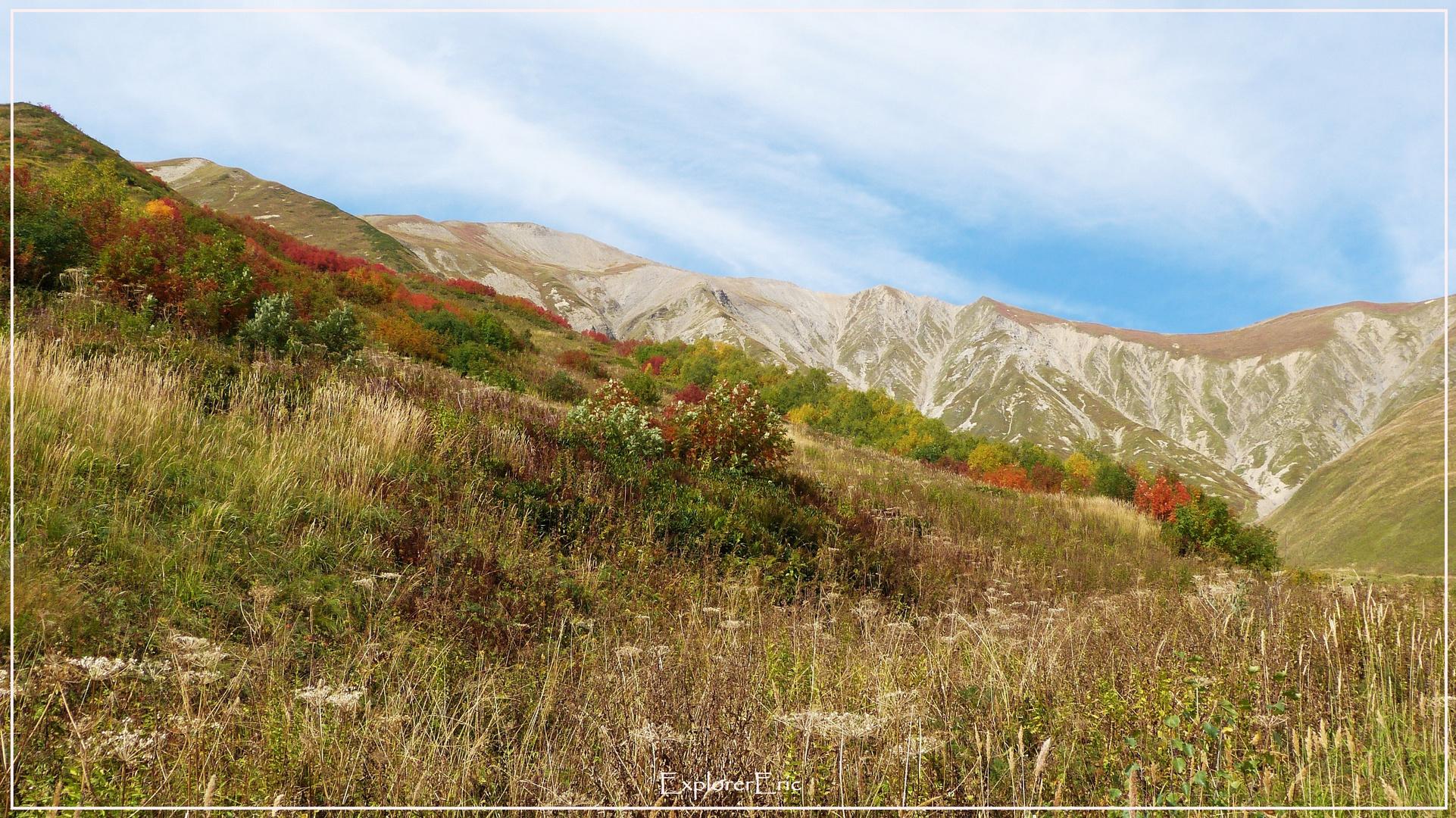 Herbst in den swanetischen Almen.................