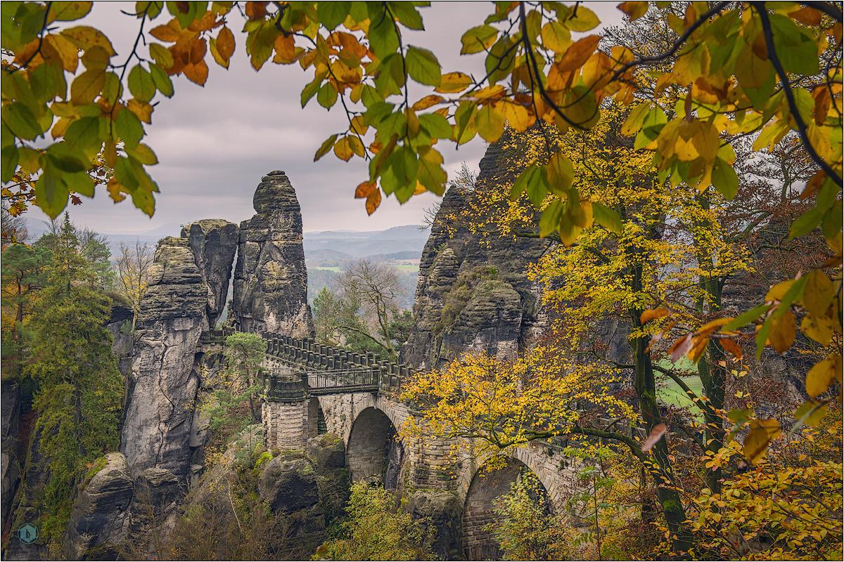 Herbst in der Bastei