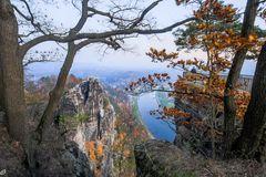 Herbst in der Bastei.