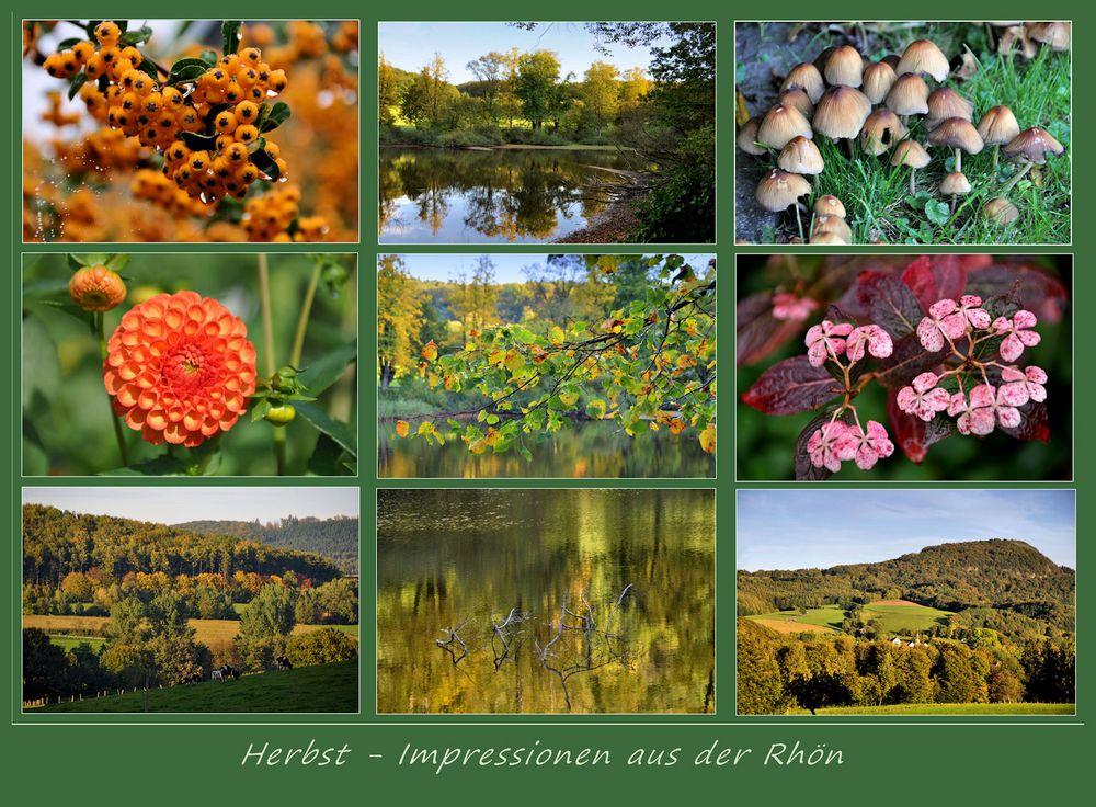 Herbst in der Rhön...