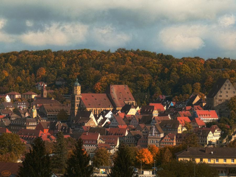 Herbst in der Stadt...
