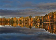 Herbst in Finnland