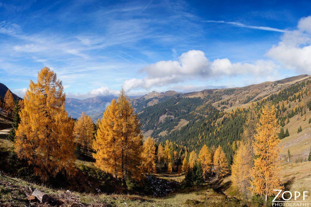 Herbst in Grossarl