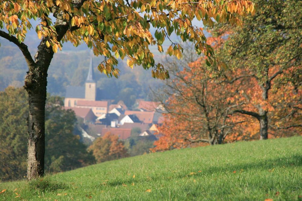 Herbst in Hetzles